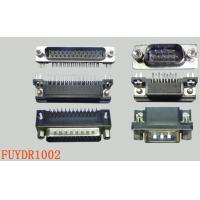 Quality Custom Right Angle PCB Connector Plug D Sub 15 Pin Connector for sale
