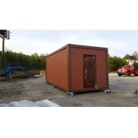 China Fireproof Movable Economical Prefabricated Container House With Sandwich Panel on sale