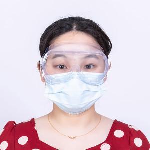 Quality Transparent High Transmittance 89% Fog Proof Safety Glasses for sale