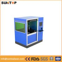 Buy cheap 500W Small size fiber laser cutting machine for stailess steel and brass cutting from wholesalers
