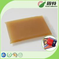 Quality High Viscosity Amber Animal Jelly Glue For Automatic Case Maker for sale