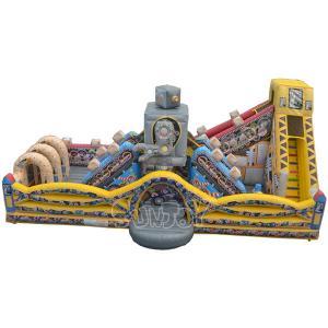 China Customized Size Lanao Inflatable Robot Amusement Park on sale