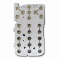 China Metal Dome Array for MP3/MP4 Player with Stainless Steel, 110V Working Voltage on sale