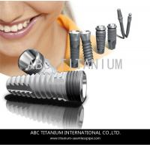 Quality ASTM F136 / ISO 5832-3 Ti-6Al-4V ELI Titanium dental implant for sale