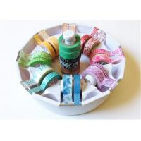 Quality Cute tape Washi Tape Rice Paper Coating With Non-residual Adhesive for sale