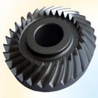 Quality Bevel gear big size to 8 meter diameter as custmer drawing left or right, spiral bevel driving gear for sale