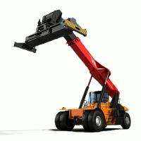 Buy cheap 45 Ton Reach Stacker Forklift Energy Saving High Security For Containers from wholesalers