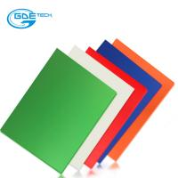 Buy cheap Custom G10/FR4 Glassfiber Sheet Green/Black/Yellow/Red/Blue/Orange Color from wholesalers