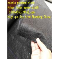 Buy cheap weed mat woven geotextile PP virgin material Fiber layer needle punched cloth from wholesalers