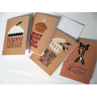 Quality Commercial Custom Christmas Card Printing Service , Greeting Card Printing Services for sale
