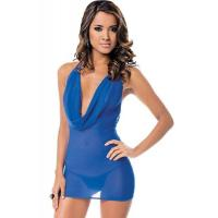 China Sexy Lingerie Wholesale Babydoll Lingerie Chemises Sexy Sheer Dress on sale