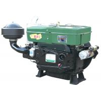 Quality New Green Color Single Cylinder Small Single Cylinder 4-stroke Diesel Engine Water Cooled 30hp for sale