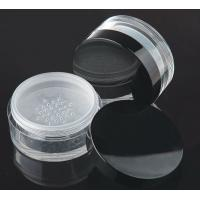 Quality 80gram  made in China cosmetic  loose power jar for sale