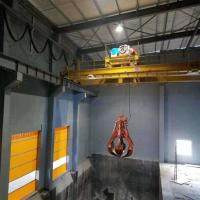 Quality Mini Electric Grab Bucket Crane 20 Ton For Scrap Metal Single Beam Factory for sale