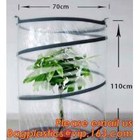 China Rubbish Pop Up Biodegradable Garden Bags Waste Refuse Rubbish Grass Sack Outdoor Camping on sale