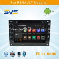 Quality Android car dvd player GPS navigation for Renault Megane 2003-2010 quad core car audio for sale