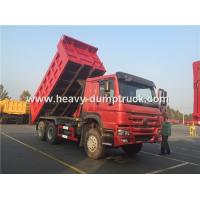 Quality Sinotruk Howo 371 Hp Tipper Heavy Load Truck For Bad Road Condition And Overloading for sale
