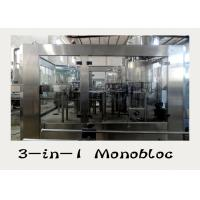 China Bottled Water Production Line Water Filling Machine , Water Bottling Machine on sale