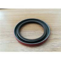 Quality OEM Auto FKM Rubber Double Lip Spring Oil Seal , Silicone Gearbox Rotary Spring Oil Seal for sale