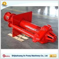 Quality Mining Pit Sump Submerged Vertical Slurry Pump for sale