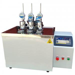 Quality HDT Vicat softening temperature Testing Machine for sale