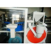 Quality 45kw Small Size PE Pulverizer Voltage Protection Adjustable Fineness 120 Mesh for sale
