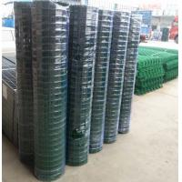 Quality PVC coated holland wire mesh fence black green wire mesh for sale