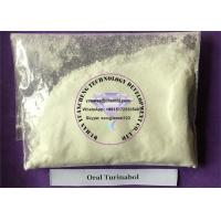 Quality Gaining Muscle Testosterone Anabolic Steroid Raw Powder Oral Turinabol  CAS 2446-23-3 for sale