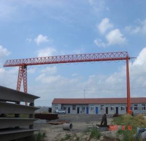 Quality Port  Single Girder Gantry Crane / Truss Gantry Crane 10T 20T Load Capacity for sale