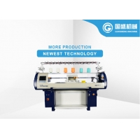 Quality Synthetic Shoe Upper Computerized Flat Bed Knitting Machine for sale