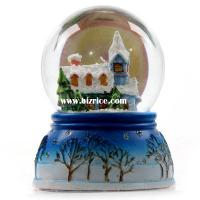 Quality Snow globe on polyresin Christmas tree for sale