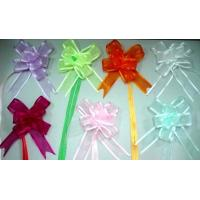 Quality Organza pull bow and Gift Packing Cake Decoration Bows for sale