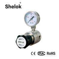 Quality Double Stage Pure Gas Pressure Regulator, Natural Gas Pressure Regulator for sale