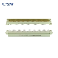 Quality 2 Rows 16pin Male Vertical PCB 2*32P 64 Pin Eurocard 41612 Connector for sale