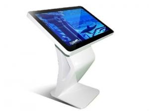 Quality USB Interface White 32 Inch Touch Screen Kiosk With Remote Control for sale