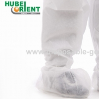 Quality ISO9001 Single Use Nonwoven Shoe Covers With Elastic Rubber Opening for sale