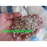 Quality PP / PE / ABS Plastic Recycling Equipment Of Cold Cutting Granulate Line for sale