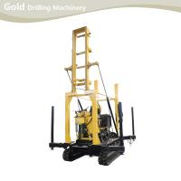 Quality Crawler-mounted Hydraulic Drilling Tower Water Well Drilling Rig for sale