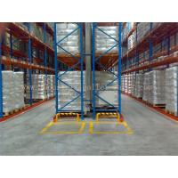 5 Beam Level Very Narrow Aisle Racking 16.5 FT Height Palletised Warehouse