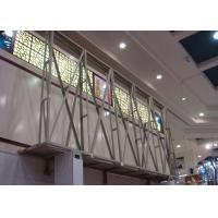 Buy cheap SMD Steel Structure Indoor Advertising LED Display With High Brightness from wholesalers