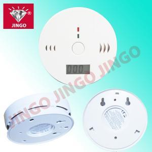 Quality Portable fire alarm CO (carbon monoxide) gas detector with sounder for sale