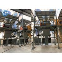 Quality Automatic Dry Mortar Production Line 10 - 20t/H Ceramic Tile Making Plant for sale