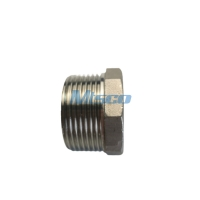 Quality 1'' 304/316 Thread Hexagonal Bushing 150PSI For Gas Pipe System for sale