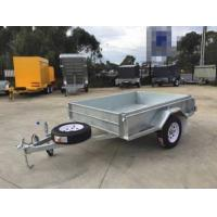 Quality 7x 5 Hot Dipped Galvanised Single Axle Trailer 750KG for sale
