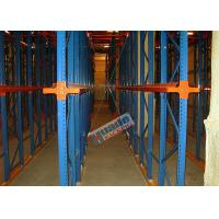 Buy cheap Heavy Load Drive In Racking , Galvanised Pallet Racking Storage Drive Through Racks from wholesalers