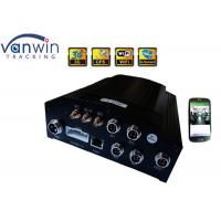 China Anti-vibration HDD Security 3G multi functions Mobile DVR 4CH For Bus / Truck on sale