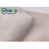 Quality Eco - Friendly Soft Woven Interlining Fabric / Wool Interlining Fabric For Bag for sale