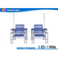 Quality Hospital Waiting Room Chairs With IV Pole Stand Infusion Treatment for sale