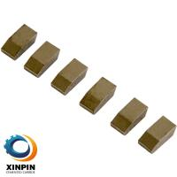 Quality High Hardness Tungsten Carbide Saw Tips For Steel Cutting Solid Cutter Sharping & Good Transverve Rupture Strength for sale