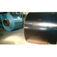 China Blue / Golden hydrophilic coated Aluminum foil with thickness 0.2MM Various Width For aluminium  Fin Stock on sale